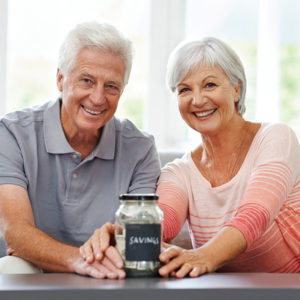 A couple saving for their pension Pic: Istockphoto