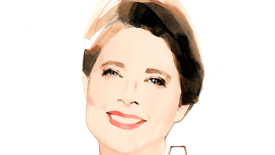 Lancôme muse Isabella Rossellini Illustration: © Marc-Antoine Coulon for Lancôme