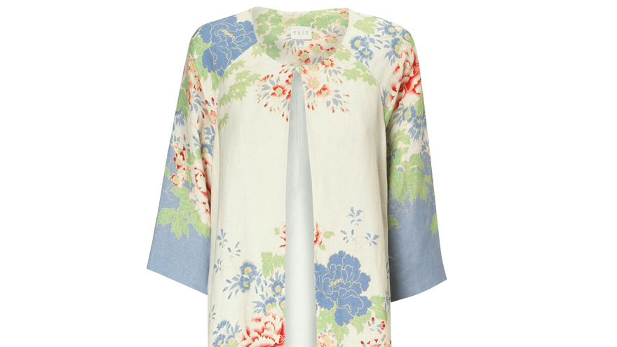 Floral Coat from East