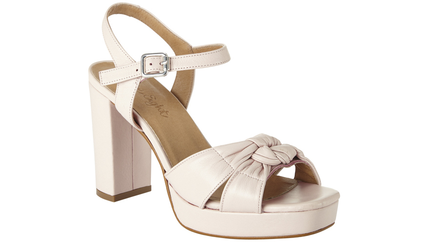 Leather sandals £99, Phase Eight