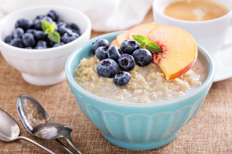 Quinoa porridge Pic: Rex/Shutterstock