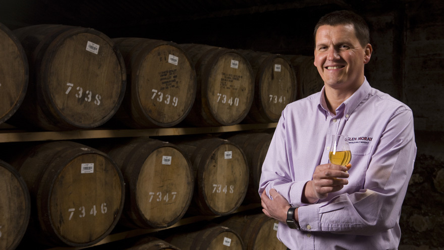 Graham Coull, Glen Moray's Master Distiller