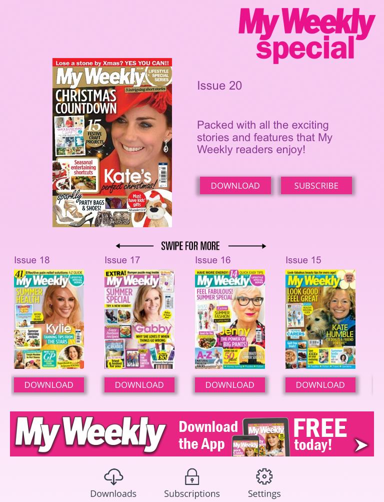 My Weekly Digital Edition
