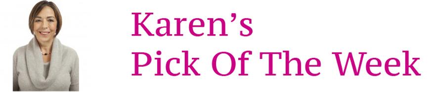Karen's Pick of the Week logo