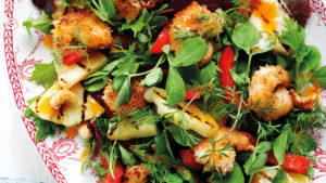 Coconut Prawn Salad