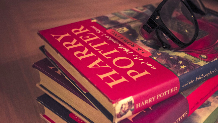Harry Potter books Pic: Istockphoto