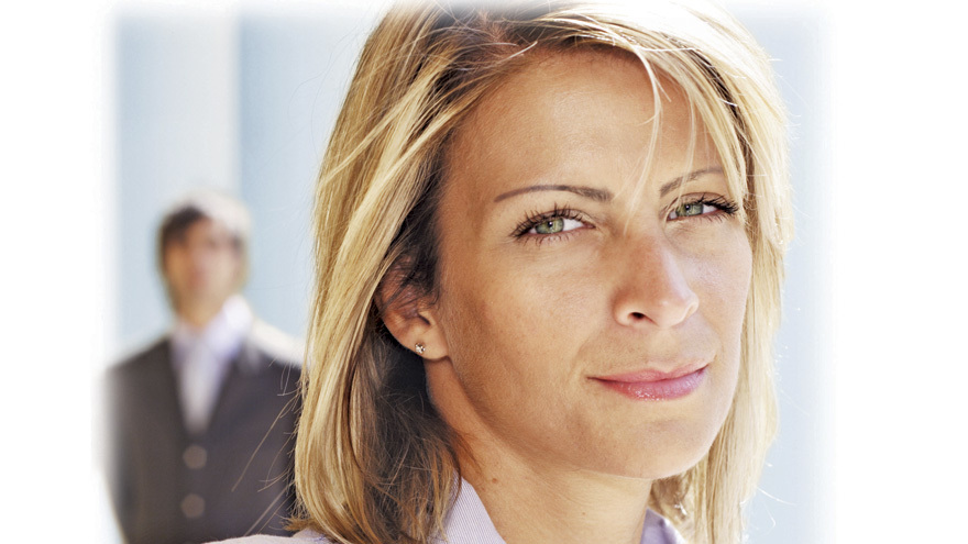 Lady looking pensive Pic: Rex/Shutterstock