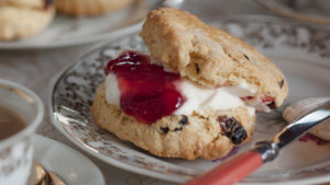 Top a warm scone with your homemade jam - delicious! Pic: Rex/Shutterstock