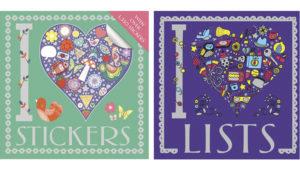 I Heart Stickers and I Heart Lists