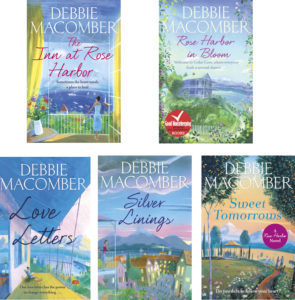 5 Debbie Macomber books covers