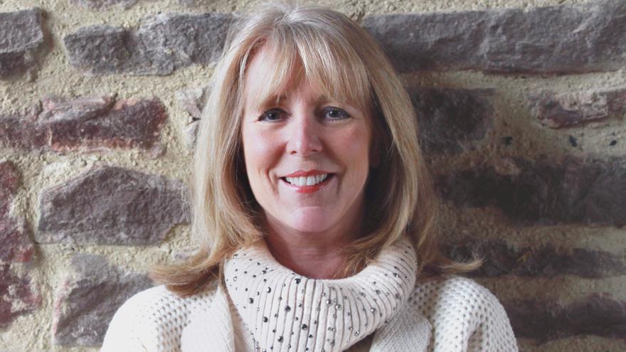 Author Susan Lewis at her Bagington home Pic: @ThousandWordMedia