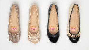Four ballet pumps