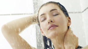 Woman in the shower Pic: Istockphoto