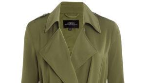 Khaki trench coat from Matalan