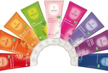 weleda bodywashes