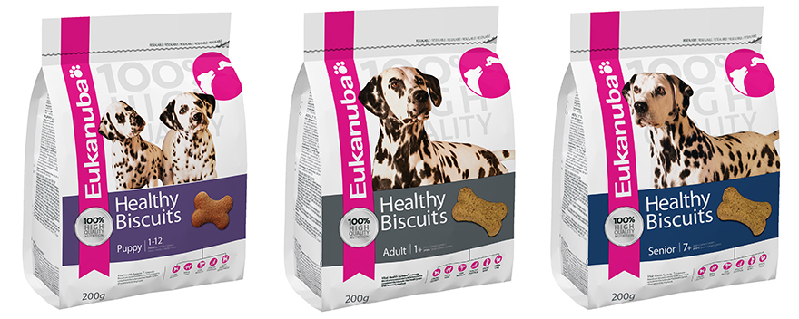 . Eukanuba's Healthy Extra Biscuits