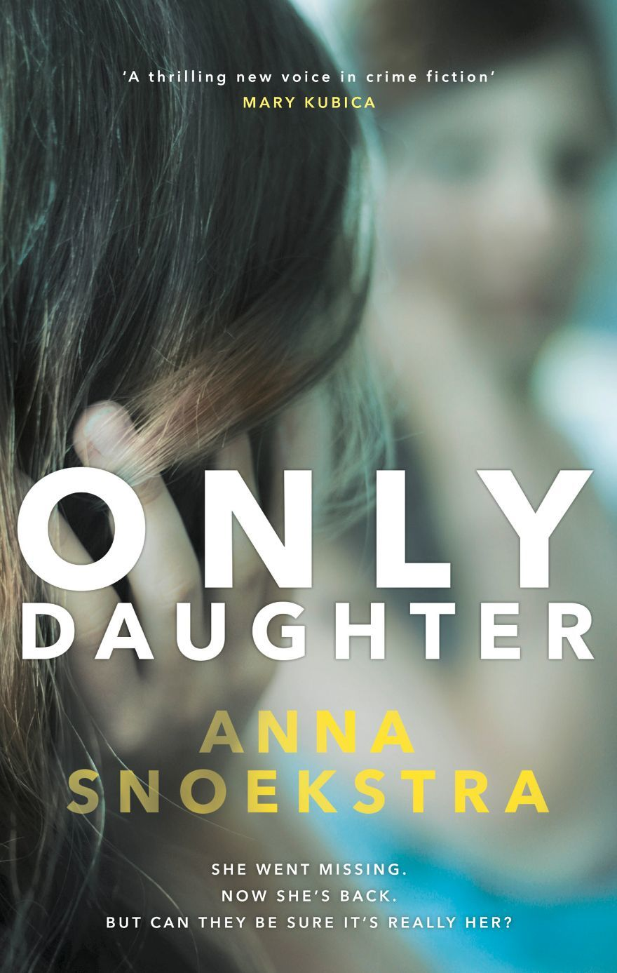only daughter anna snoekstra book jacket
