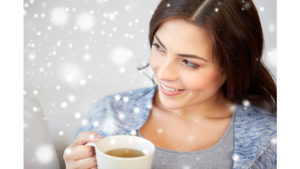 Lady drinking tea Pic: Rex/Shutterstock