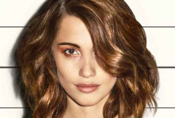 A lady with a wavy bob hairstyle