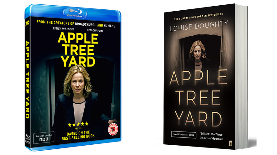 Blu-ray version and book of Apple Tree Yard