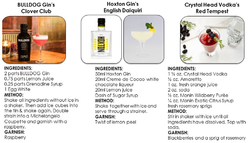 Three recipes for Valentine's Day cocktails