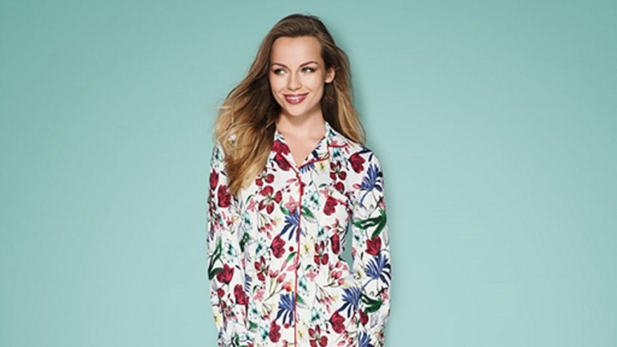 T by Tabitha Avon PJs in botantical print