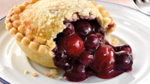 Red Cherry and Blueberry pie