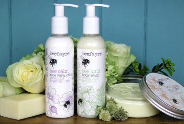Waggledance Body & Bath products