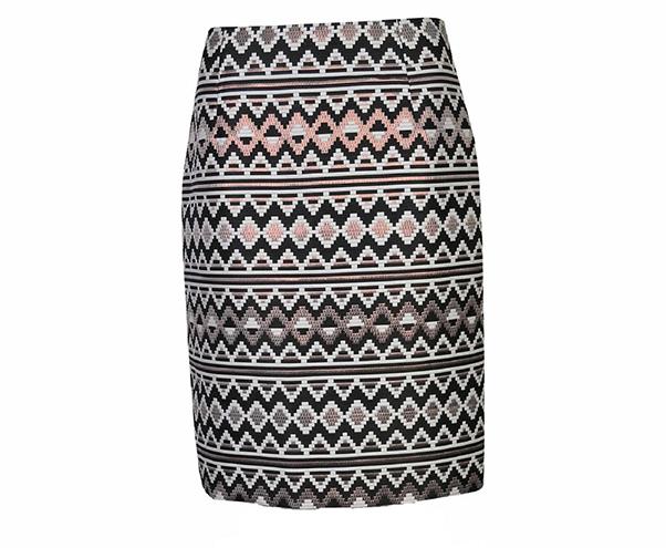 Aztec skirt, £65