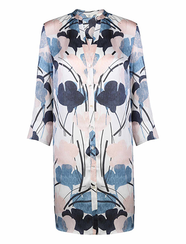 Floral print tunic shirt, £60