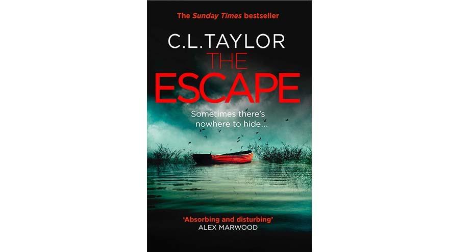 The escape by C. L.Taylor book cover