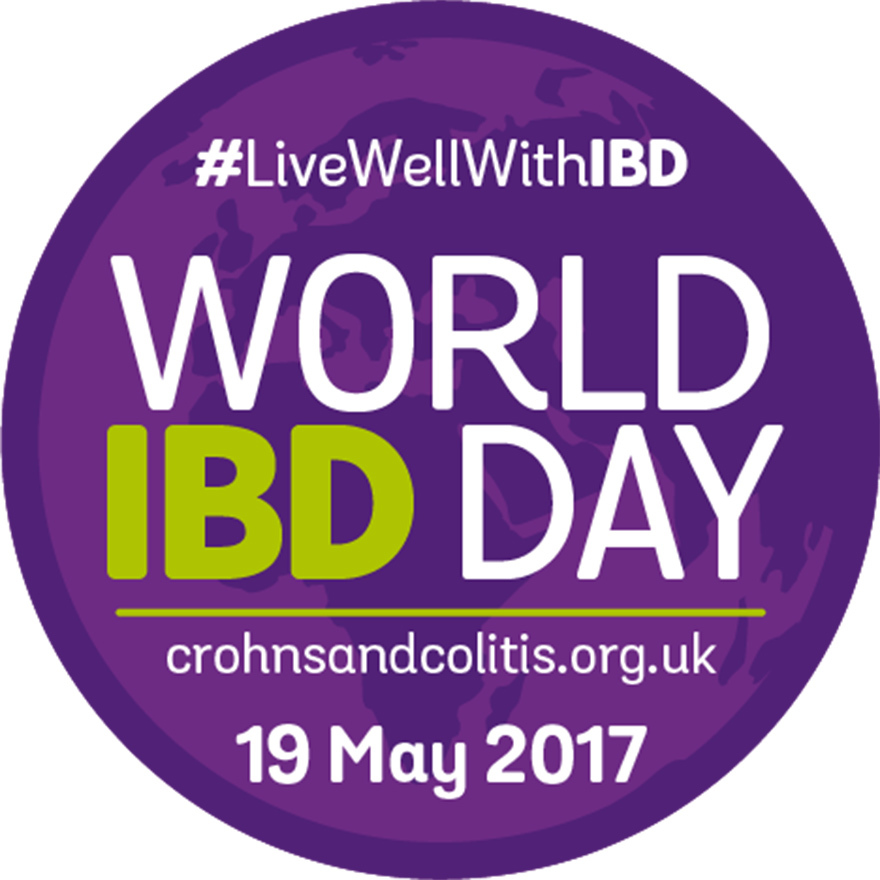 World IBD Day purple logo