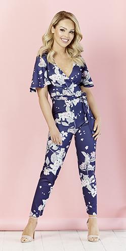 Oriental Floral Jumpsuit, £39.95