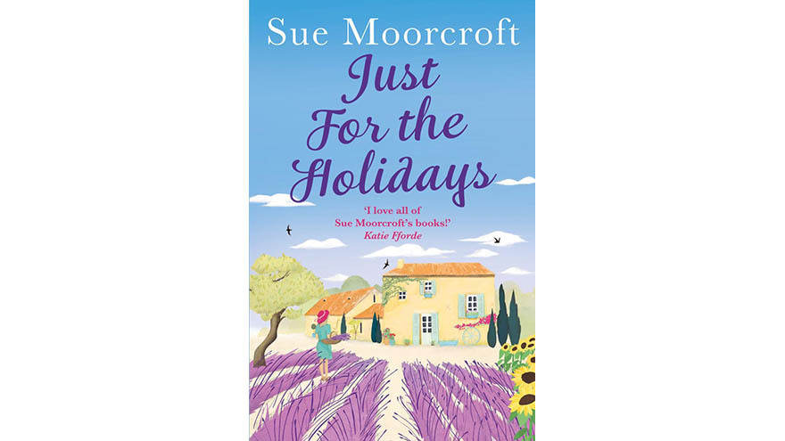 just for the holidays Sue Moorcroft cover