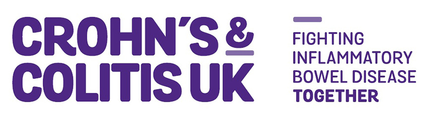 Crohn's and Colitis UK charity logo and strapline