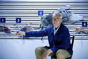 Larry Lamb tries to identify the malaria carrying mosquito as he works with Boots UK to encourage others to