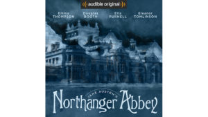 Northanger Abbey audible book cover