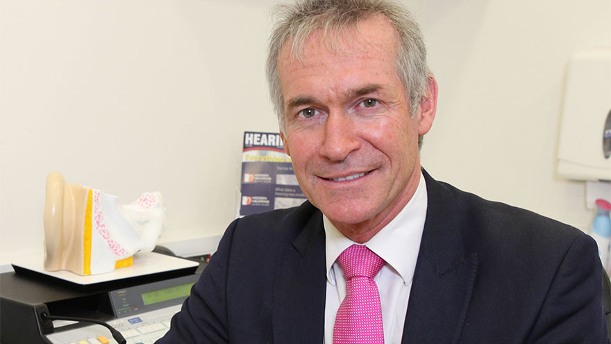 TV's Doctor Hilary Jones