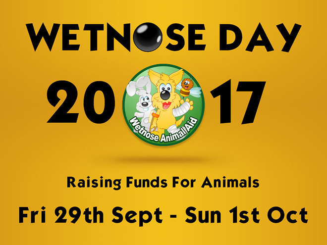 Wetnose charity banner