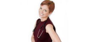 Dr. Pixie McKenna on a white background