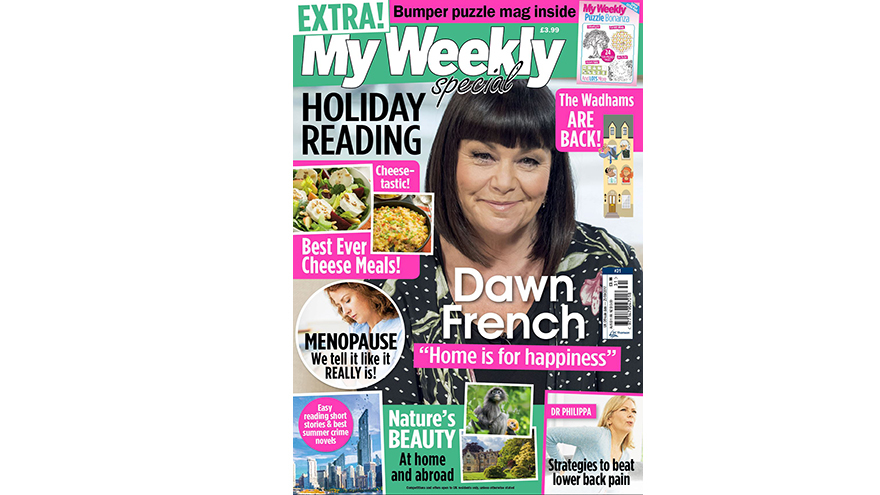Special 31 cover with Dawn French