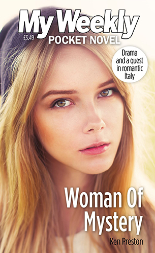 Woman Of Mystery Pocket Novel Cover