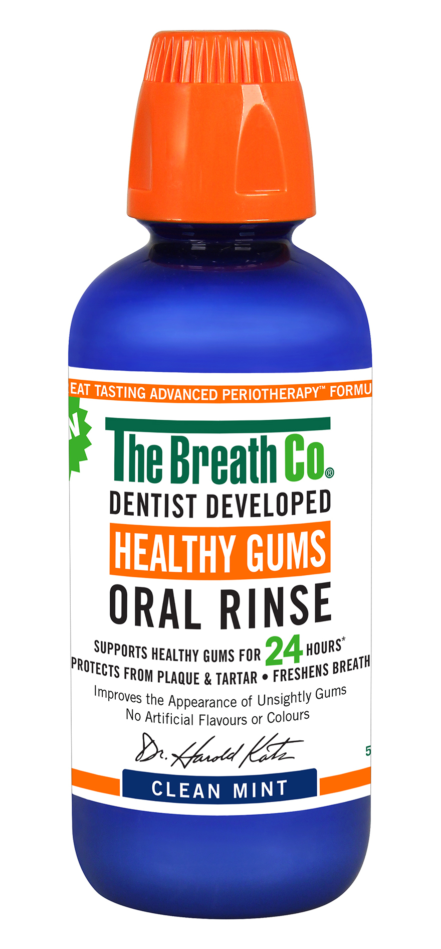 The Breath Co Healthy Gums Oral Rinse Clean Mint x