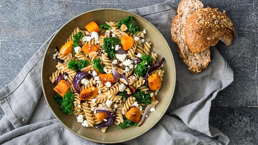 Pumpkin and Pasta salad