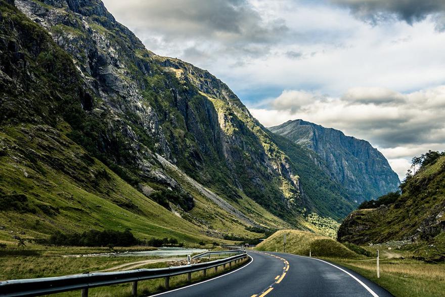 Road through Lake District