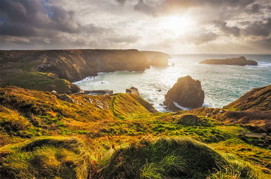 Mullion Cove, Cornwall, is a must visit at any time of year.