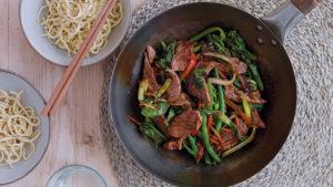 Lamb stir-fry