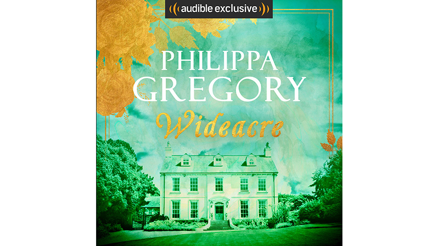 Wideacre Audio book cover Philippa Gregory