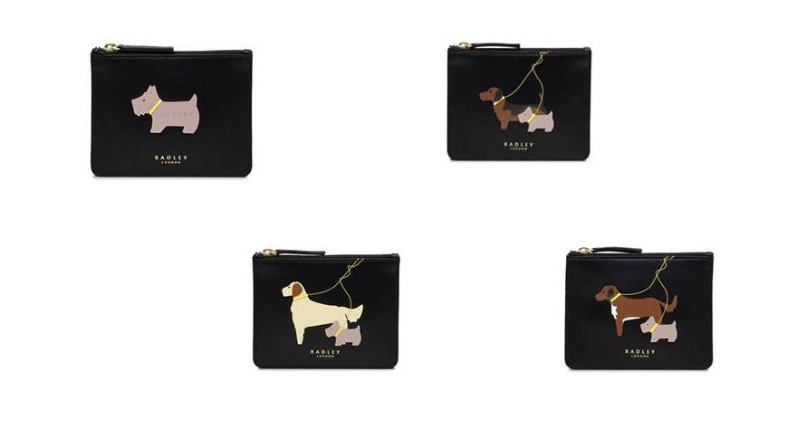The 4 coin purses available
