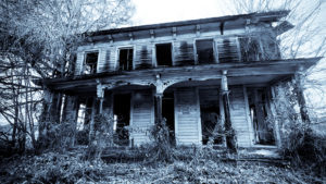 An old haunted house